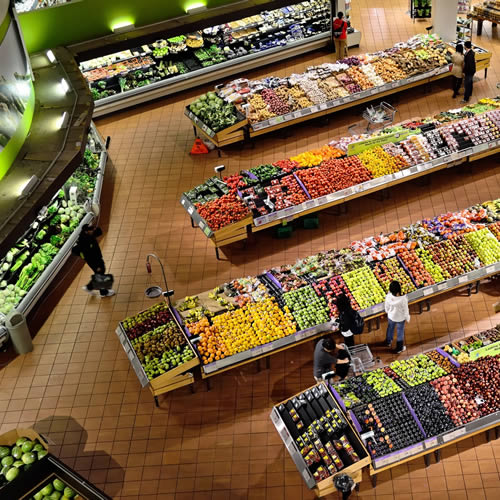 Retail Stores Control Fruit and vegetables