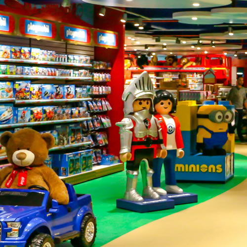 Retail Stores Control Toy shops