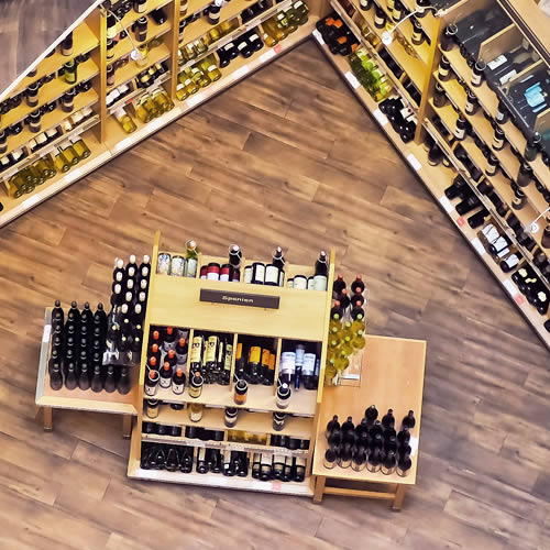 Retail Stores Control Wines and spirits